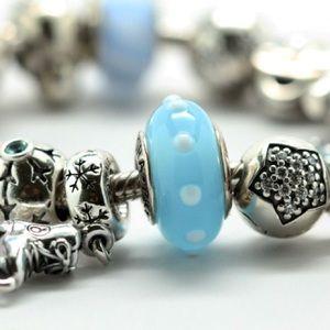 Pandora Murano Glass Bead 💙